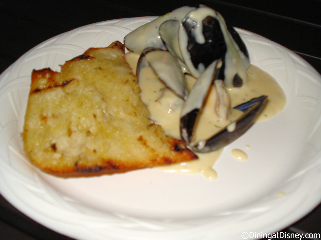 Mussels in cream sauce - Belgium - 2010 Epcot Food and Wine Festival