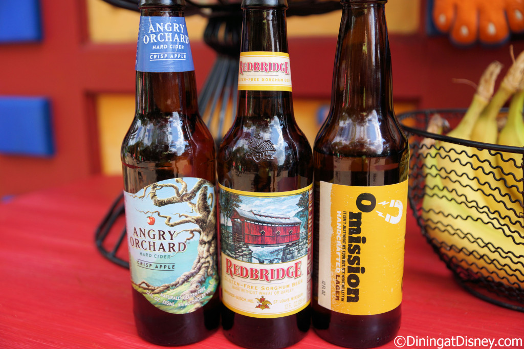 Gluten-free beers available at Allergy Dining Tips