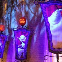 Jack and Sally area - Mickey's Not-So-Scary Halloween Party