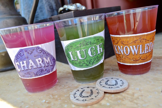 Legends of Frontierland drinks