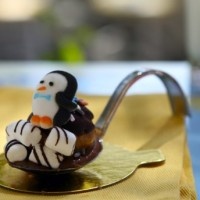 "Mary Poppins ""Spoonful of Sugar"" penguin - Jolly Holiday Bakery Cafe"