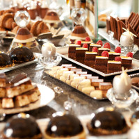 Desserts from Waldorf Astoria's Food and Wine Weekends