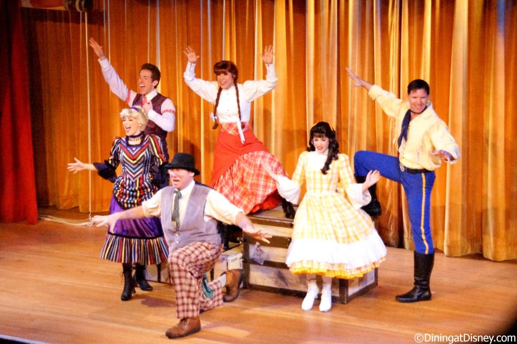 The pioneer players  at Hoop Dee Doo Musical Review