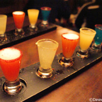 La Cava del Tequila margarita sampler