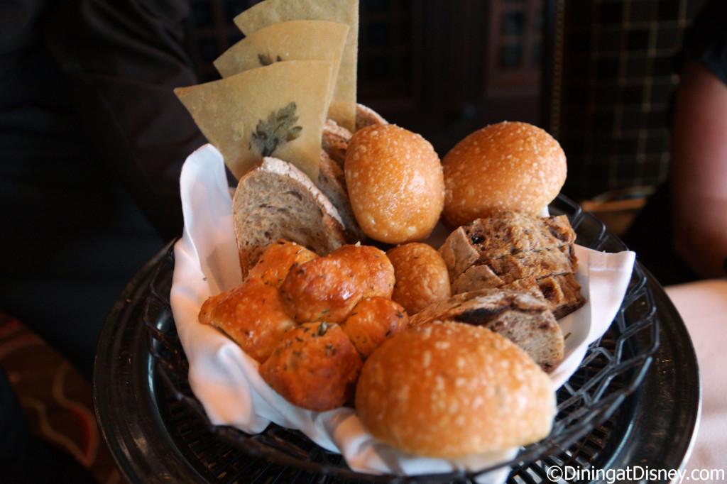 Bread basket at Global Venture dinner