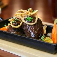 Braised short rib at Steakhouse 55