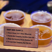 Craft Beer Flight #2 at 2014 Epcot Food and Wine Festival
