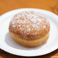 Berliner yeast doughnut from Germany - 2014 Epcot Food and Wine Festival
