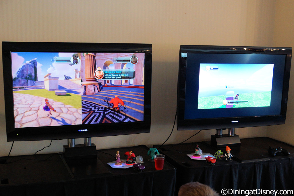 Chase Lounge gaming station at 2014 Epcot Food and Wine Festival