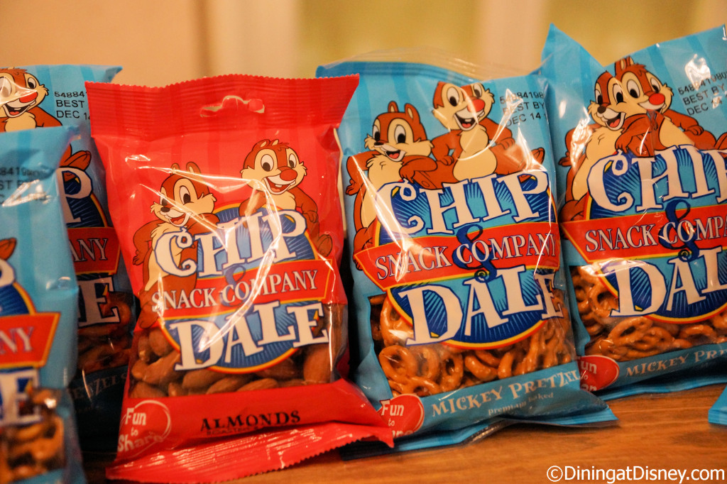 Chip n' Dale snacks in the Chase Lounge at the 2014 Epcot Food and Wine Festival