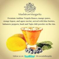 Maelstrom Margarita at La Cava del Tequila