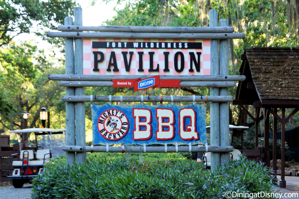 Mickey's Backyard BBQ at Fort Wilderness