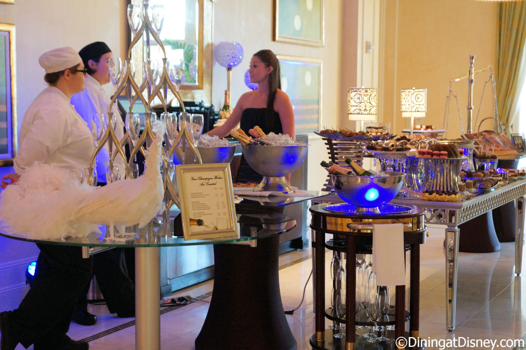 Bar du Chocolat table at Waldorf Astoria Orlando - Food and Wine Weekends