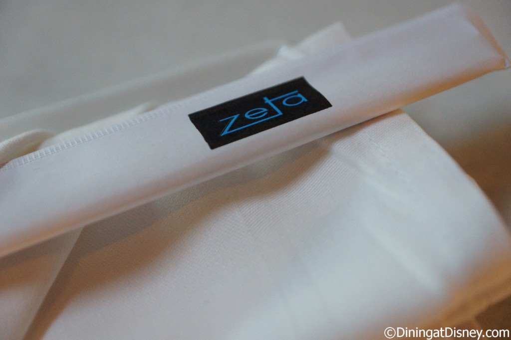 Chopsticks and napkin at Zeta - The Art of Sushi Pairing at Waldorf Astoria Orlando's Food and Wine Weekends