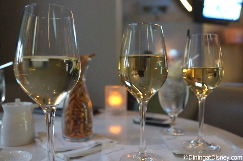The white wine pairing - The Art of Sushi Pairing at Waldorf Astoria Orlando's Food and Wine Weekends