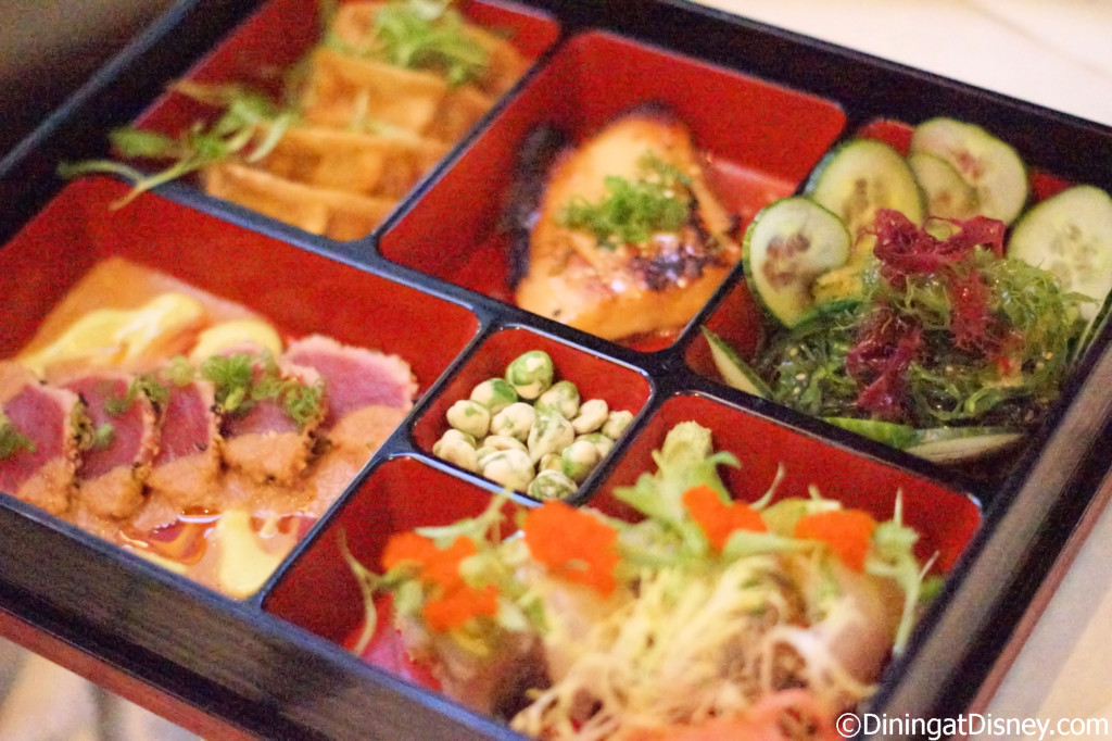 Bento box - The Art of Sushi Pairing at Waldorf Astoria Orlando's Food and Wine Weekends