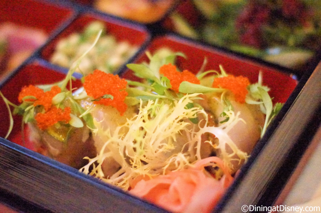 Tsunami roll - The Art of Sushi Pairing at Waldorf Astoria Orlando's Food and Wine Weekends