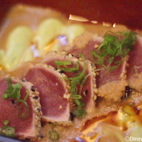 Seared Ahi Tuna Tosami - The Art of Sushi Pairing at Waldorf Astoria Orlando's Food and Wine Weekends