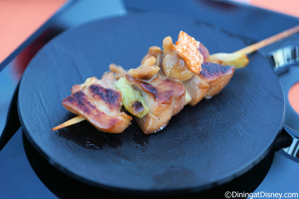 Chicken Yakitori from Cabana Bar and Beach Club - Swan and Dolphin Food and Wine Classic 2014