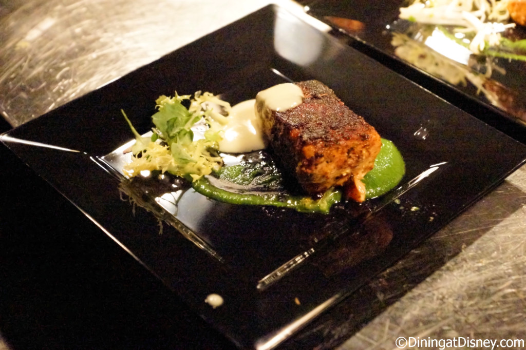 Blackened Salmon - Garden Grove - Swan and Dolphin Food and Wine Classic 2014
