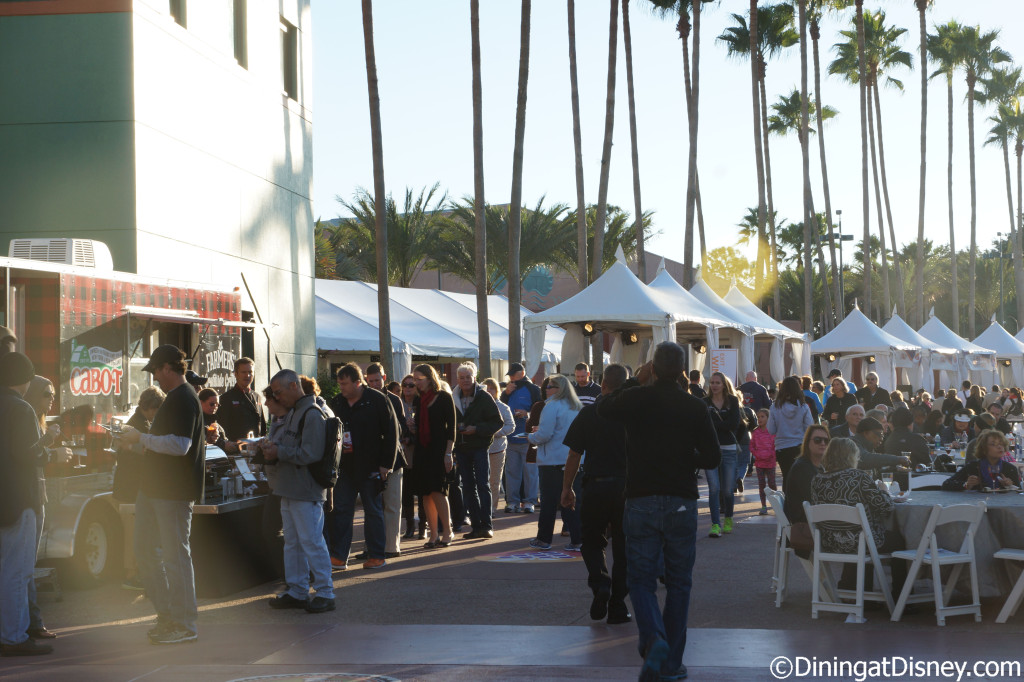 Cabot Cheese Grille Truck line -  Swan and Dolphin Food and Wine Classic 2014