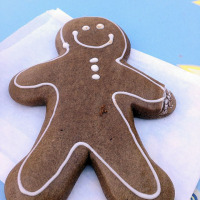 Gingerbread Man from Jolly Holiday Bakery Cafe