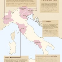 Wine map for Trattoria al Forno