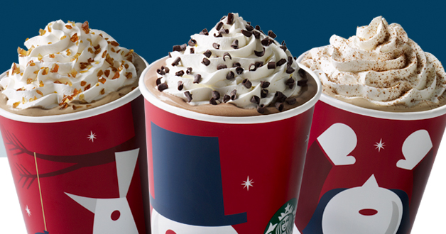 Starbucks holiday drinks 2014