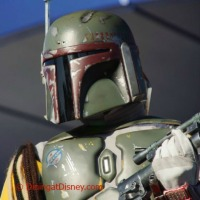 Dine with intergalactic bounty hunter Boba Fett during Disney's Star Wars Weekends.