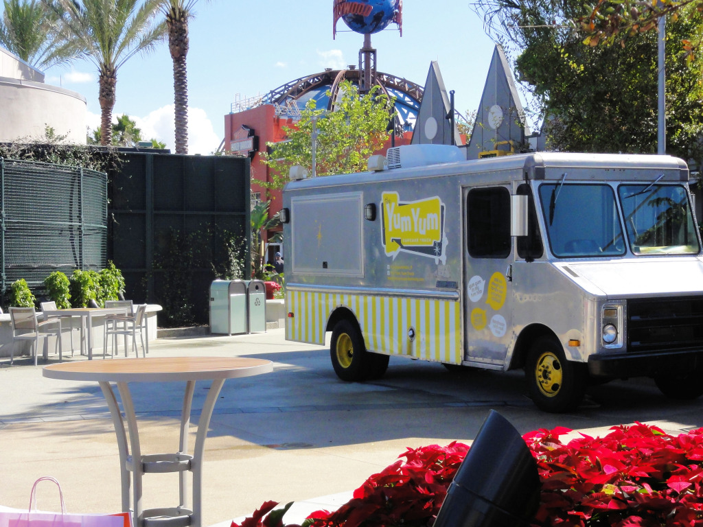 Yum Yum food truck in Exposition Park - Downtown Disney