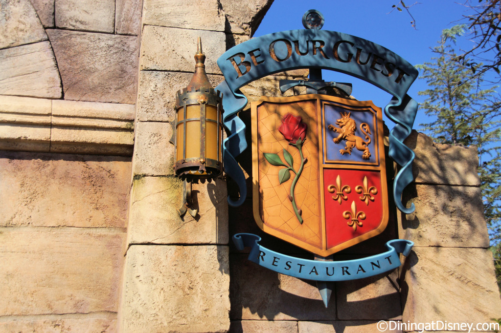 Be Our Guest Restaurant in Magic Kingdom