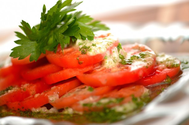 Tomato Salad from Disney Cruise Line