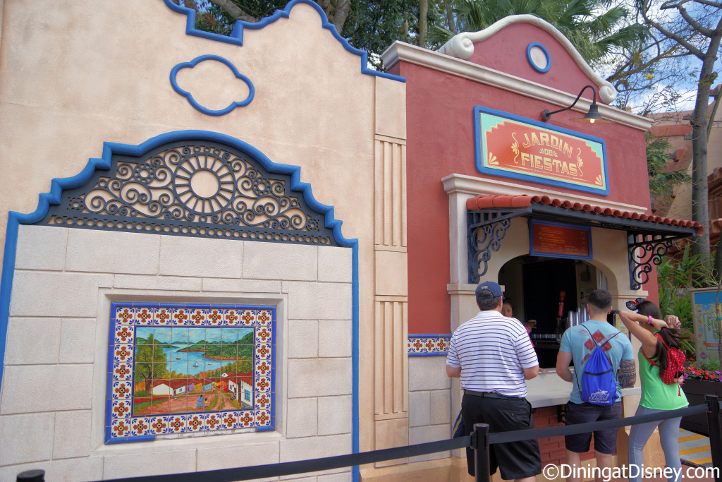 Jardin de Fiesta Outdoor Kitchen at the 2015 Epcot  Flower and Garden Festival
