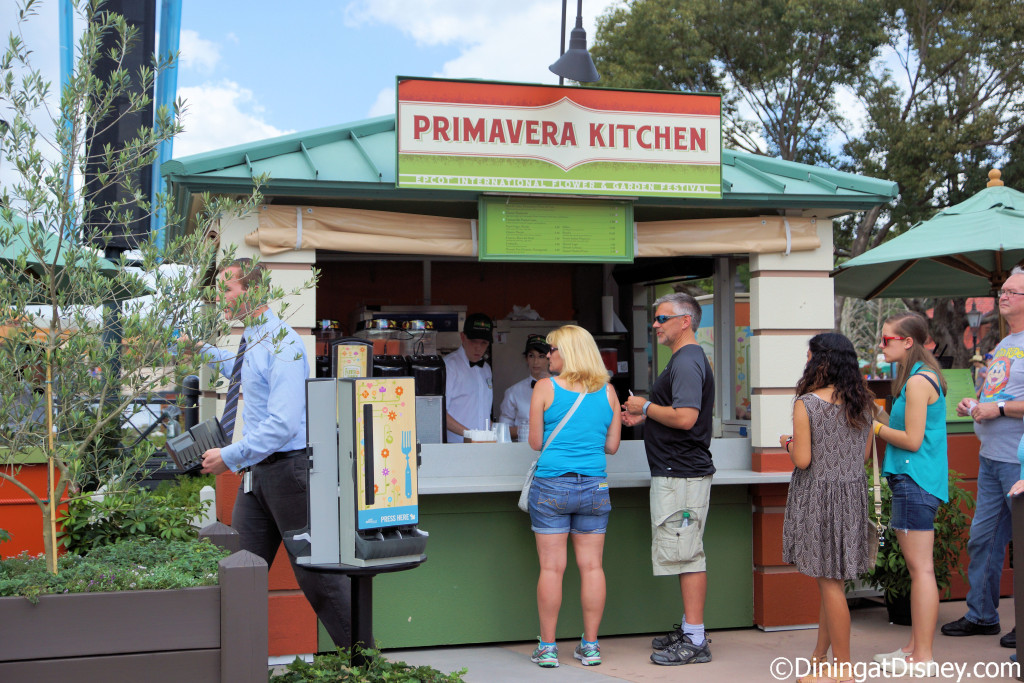 Primavera Kitchen at the 2015 Epcot Flower and Garden Festival