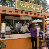 The Taste of Marrakesh Outdoor Kitchen at the 2015 Epcot Flower and Garden Festival