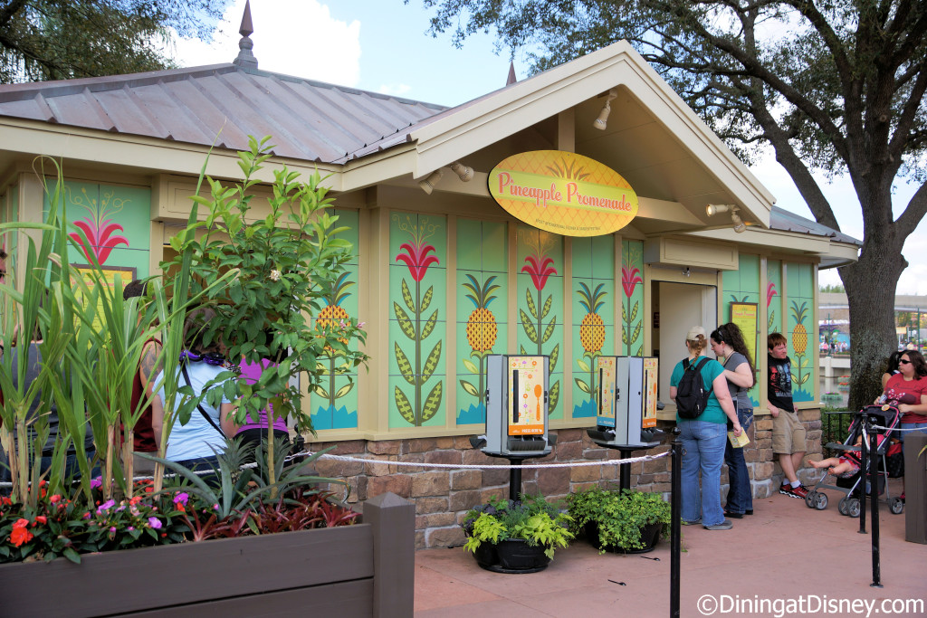 The Pineapple Promenade Outdoor Kitchen at the 2015 Epcot  Flower and Garden Festival