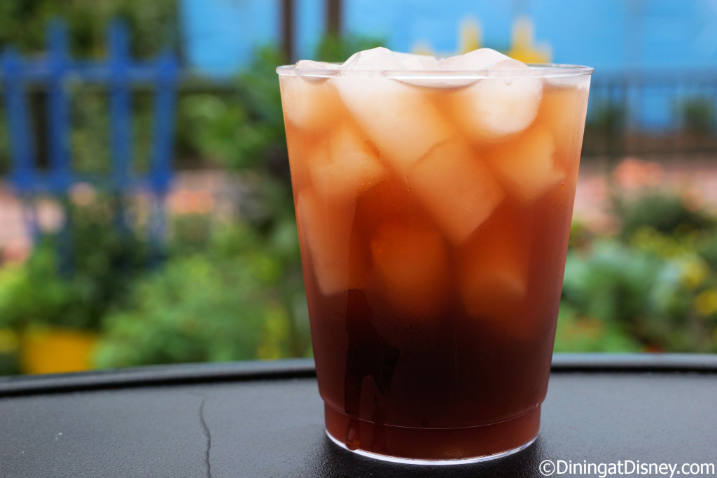 erry Tea Cocktail – Twinings Cold-Brewed Mixed Berry tea with Plant City Strawberry flavored Florida cane vodka, with raspberry and açaí syrups from Pineapple Promenade at the 2015 Epcot  Flower and Garden Festival