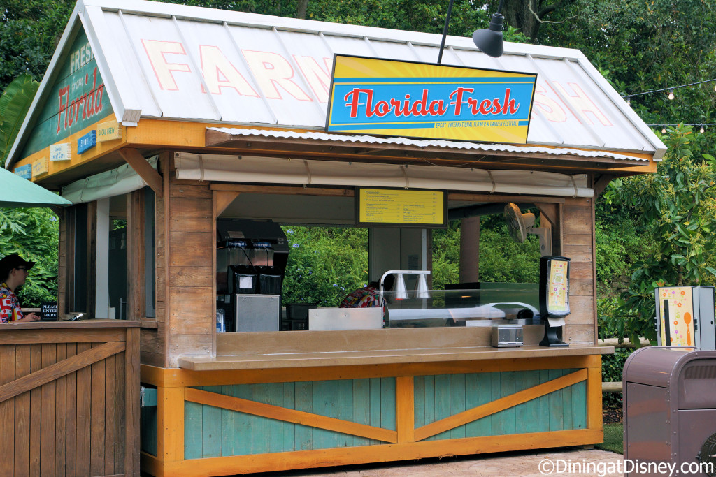 Florida Fresh Outdoor Kitchen at the 2015 Epcot  Flower and Garden Festival