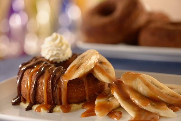 ... with banana caramel sauce, chocolate ganache Photo: Disney Parks Blog