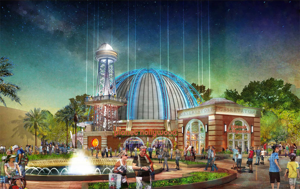 Planet Hollywood at Downtown Disney has new changes its concept along with Disney Springs