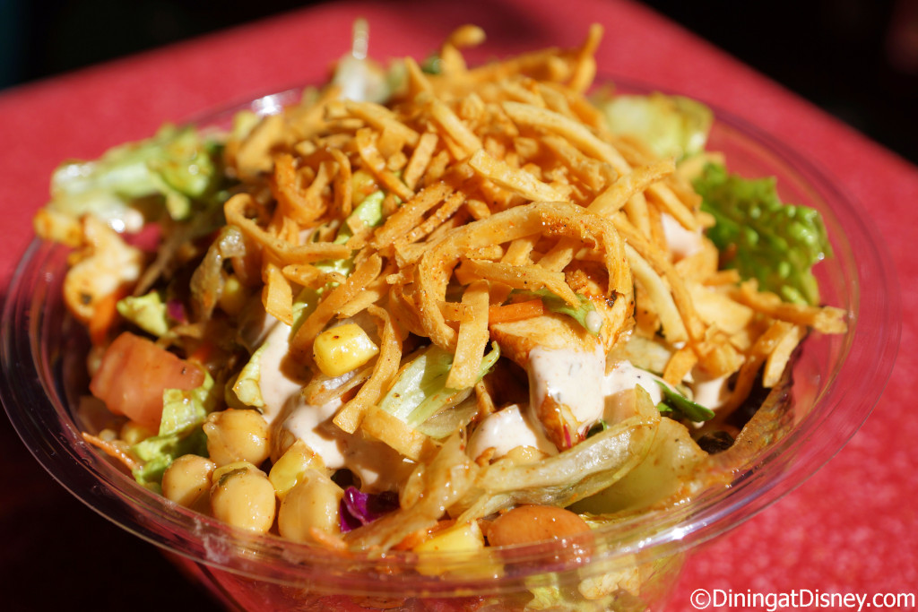 Smoked Chicken Salad from Flame Tree Barbecue in Disney's Animal Kingdom