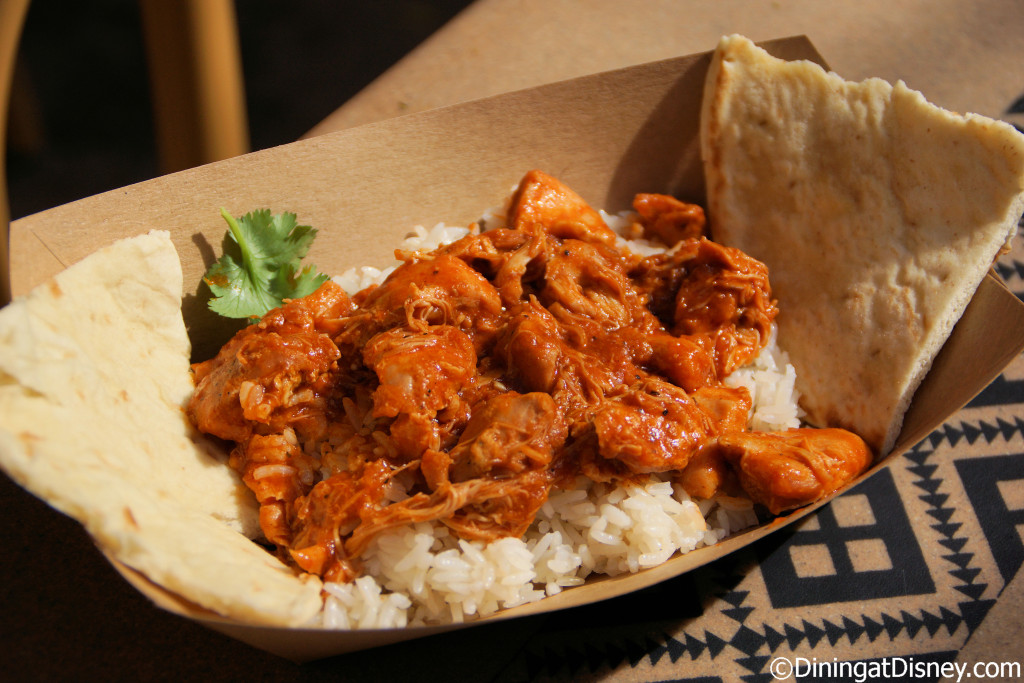 Slow-cooked Chicken Curry from Tamu Tamu Refreshments  located in Africa at Disney's Animal Kingdom