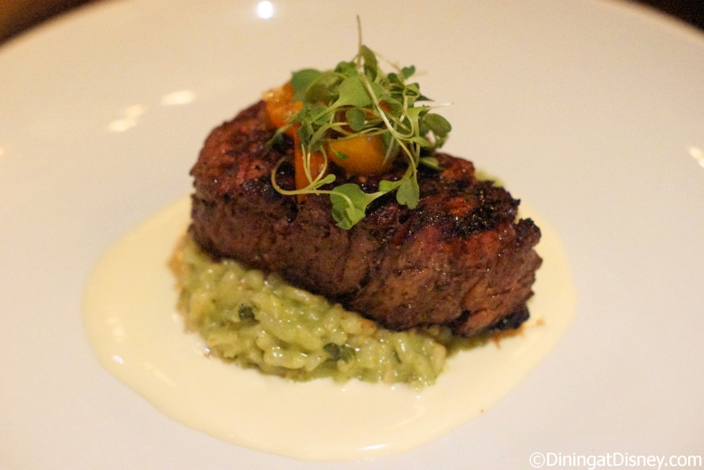 Le Cellier Filet Mignon served with risotto