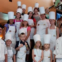 Downtown Disney Levy Restaurants kid's cooking class