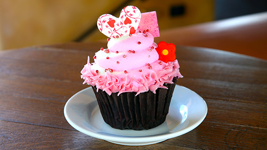 Special Mother's Day Red Velvet Cupcake (photo by: Disney)