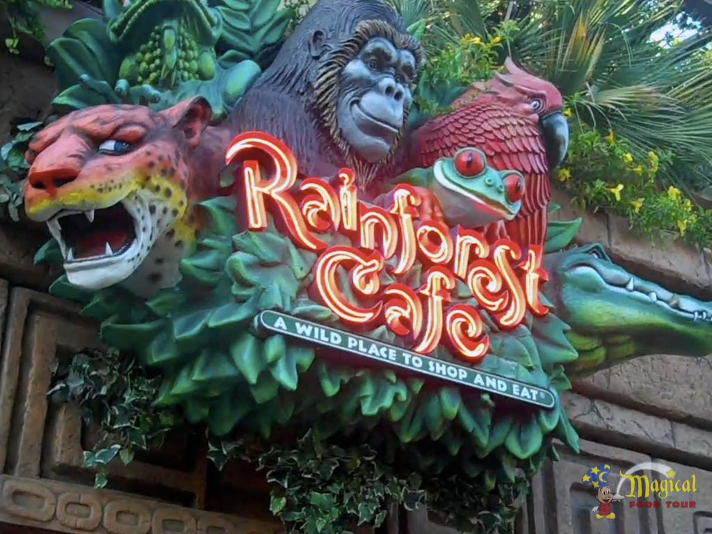 Brazilian Dishes Are Being Offered At Rainforest Cafe