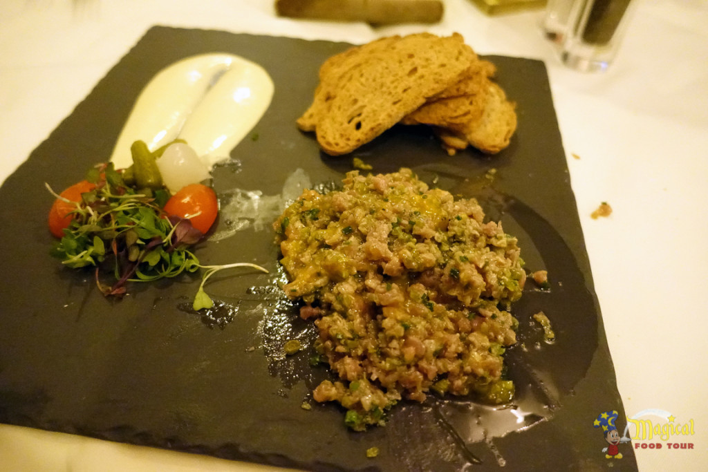 Smoked Filet Mignon Tartare After
