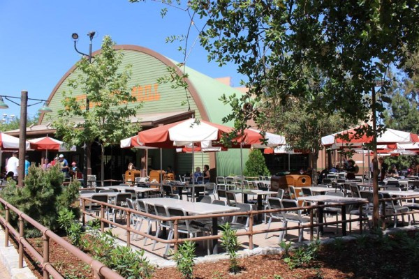 Smokejumpers Grill Outside Seating Area (photo by: Michelle Murry)