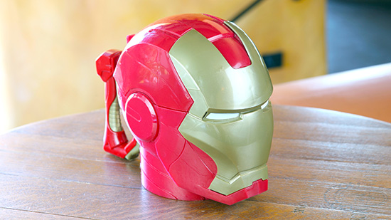 Avengers Iron Man Mug - Redd Rockett's Pizza Port [photo by: Disney]