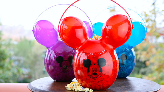 Mickey Balloon Popcorn Bucket [photo by: Disney]